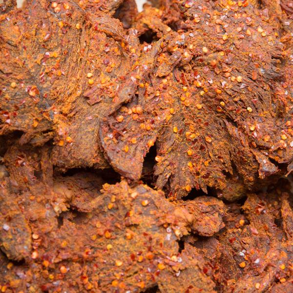 1001 辣牛肉干 Hot Beef Jerky-Khô bò ngũ vị hương cay