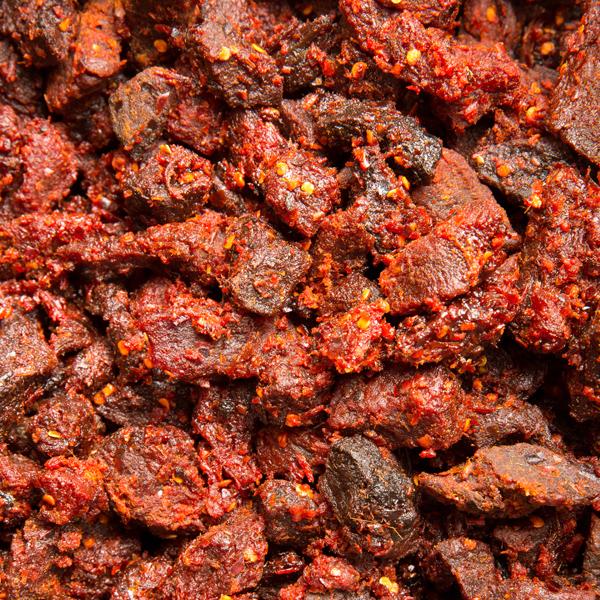 1008 牛肉角 Spicy Beef Cubes-Khô bò cục Cay