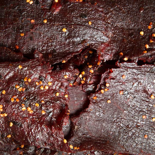 1013 BBQ牛肉干 Spicy BBQ Beef jerky-Khô bò BBQ xả ớt cay