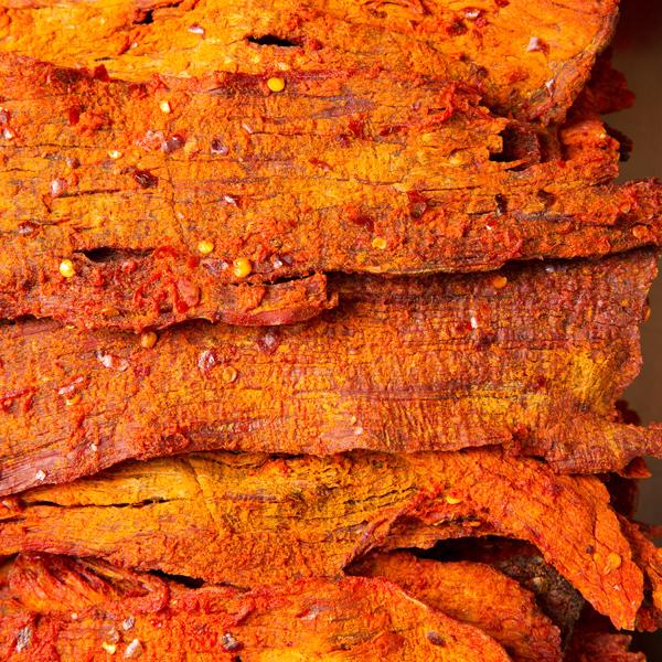 1032 香脆牛肉干 Spicy Crispy Curry Beef Jerky