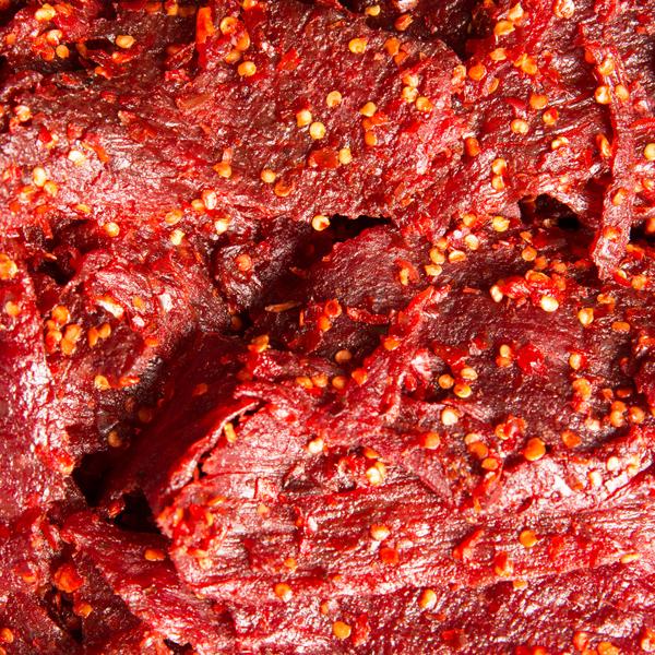 1034 柠檬草牛肉干 Spicy Lemon Grass Beef jerky-Khô bò nướng vị cay