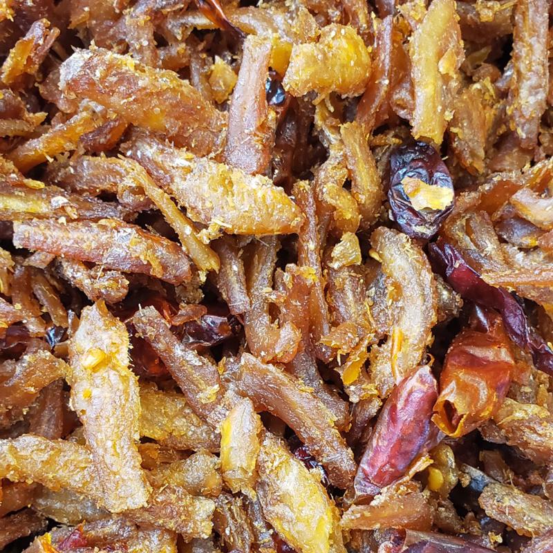 2013 白饭鱼 Spicy Seasoned Anchovy-Cá cơm cay