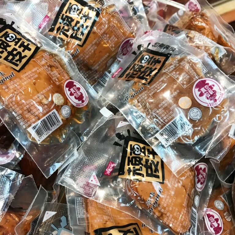 4091 不辣滷味頑皮豆干(單包裝) Dried Tofu Curd (Individual Pack)